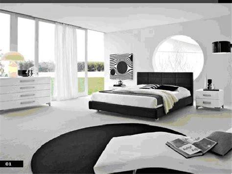 imagenes en blanco y negro modernas dormitorio blanco y negro