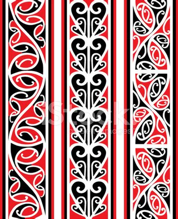 maori banner multi stock vector freeimages com
