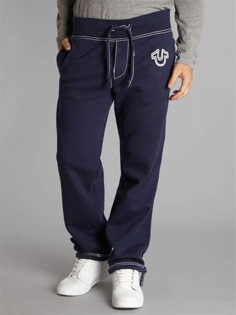 Jogger Premium Polos Uk 1 2 Th Jogger Jogger Anak Celana Pa 1 lyst true religion bottoms in blue for