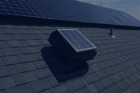 solar gable attic fan attic solar attic fans
