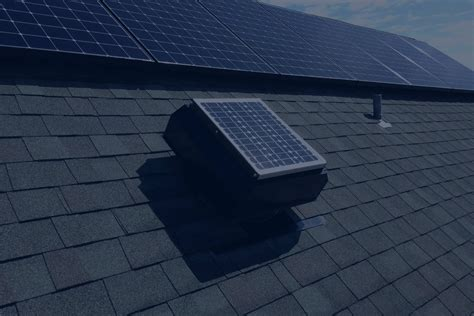 best solar gable fan attic solar attic fans