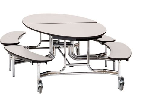 cafeteria bench nps folding oval bench cafeteria table plywood 10x6