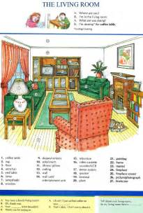 10 the living room pictures dictionary study