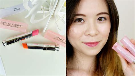 Lipstick Inez Glow Matte sugar scrub lip glow impressions review demo jqleejq