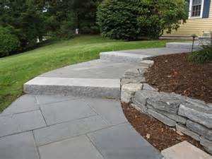 Front Yard Paver Designs - walkway and patio design in ma natural path landscaping
