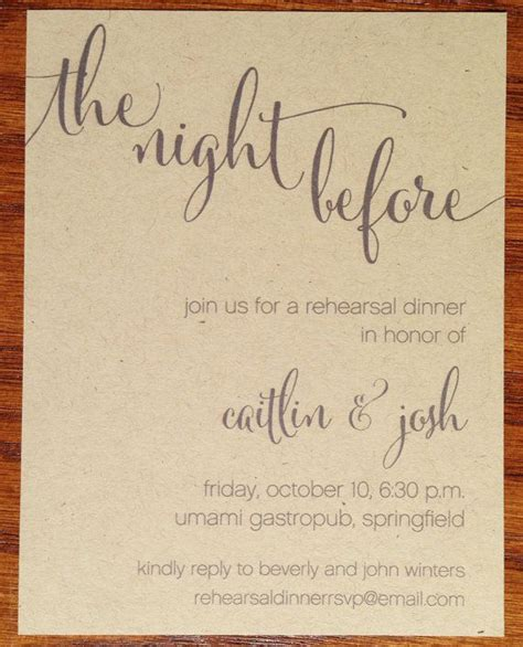 casual wedding rehearsal dinner invitations 17 best ideas about rehearsal dinners on