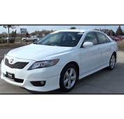 2011 Camry SE Super White Excellence Cars Direct