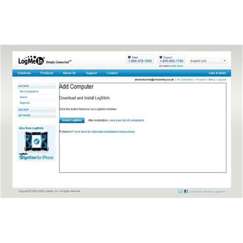 hamachi mobile windows mobile remote desktop with logmein