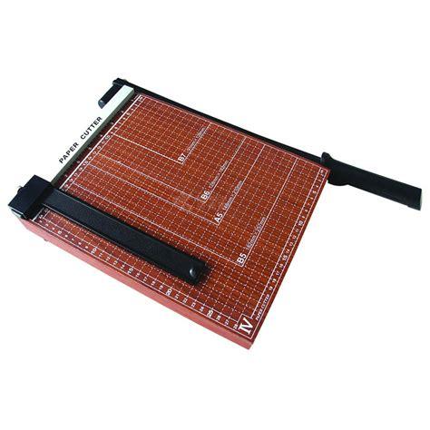 Paper Cutting A3 a3 a4 size wooden base manual guillotine paper cutter