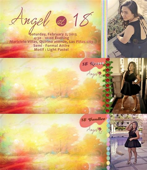 layout invitation for debut debut invitation layout by jaaaagomez on deviantart