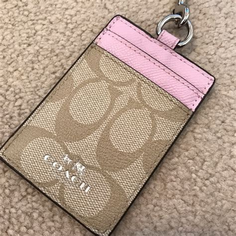 Coach Cardholder Brand New 52 coach handbags new authentic coach id card holder and lanyard from kate s closet on