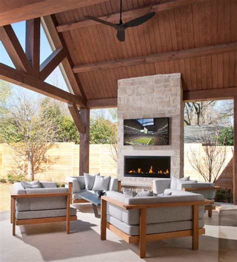 Outdoor Fireplace Dallas by Northaven Patio Dallas By Tatum Brown