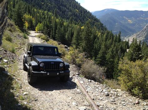 Jeep Trails In Saxon Mountain Jeep Trail The Evergreen Colorado