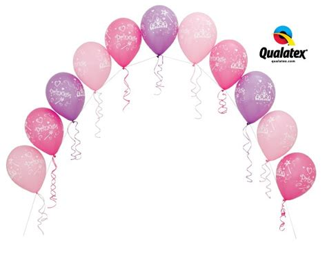Pearl String 05 string of pearl arch princess style balloon events melbourne