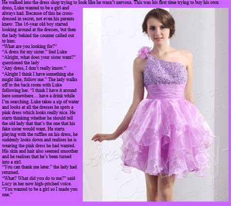 tg forced feminization dress newhairstylesformen2014 com tg cap pink dress by randomtgcaps on deviantart