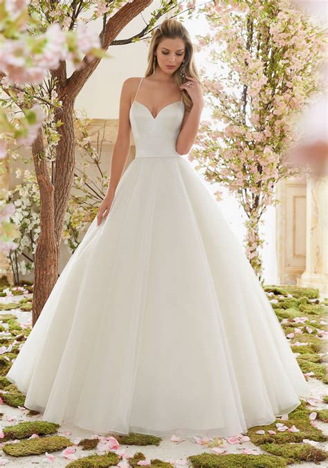 Wedding Gown Satin by Duchess Satin And Tulle Gown Wedding Dress Style