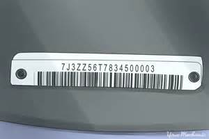 new car vin number lookup how to read a vin vehicle identification number