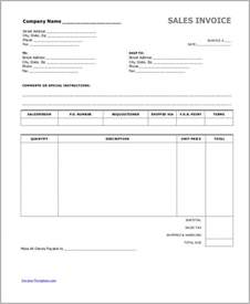 Cash Invoice Template Sample Cash Invoice 6 Examples In Pdf Word Excel