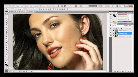 tutorial wajah photoshop tutorial online photoshop cara menghaluskan kulit wajah