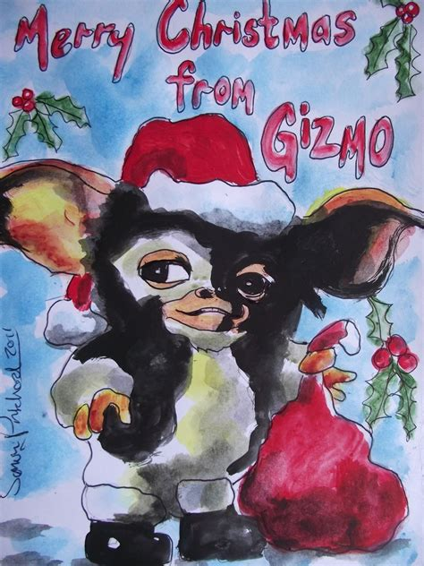merry christmas  gizmo pictures   images  facebook tumblr pinterest  twitter