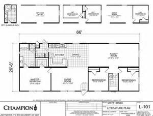Champion Modular Home Floor Plans Homes Direct Price Fighter 4663a