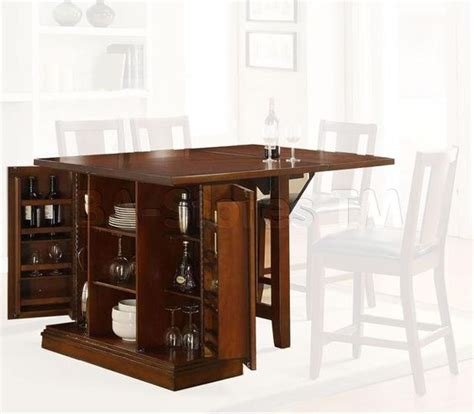 kitchen island oak counter height table with storage