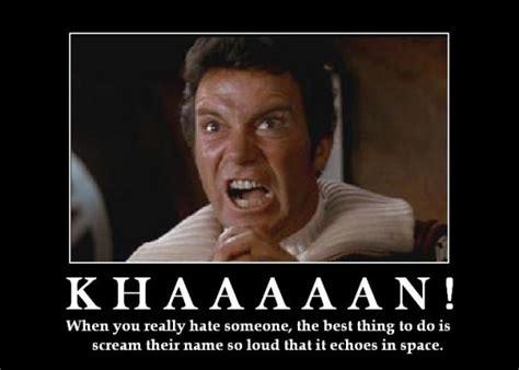 Khan Meme - jj abrams star trek ii the seed of khan astrographer