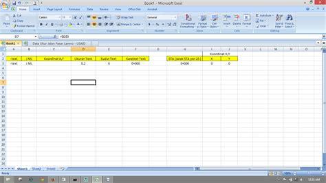 membuat form dan database dengan excel mengkombinasikan excel dengan autocad untuk membuat text