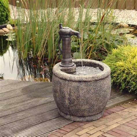 faire une fontaine de jardin bassin de jardin