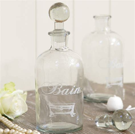 bathroom storage bottle by dibor notonthehighstreet com