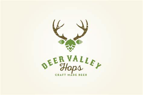 design logo from picture deer valley hops logo design logo cowboy