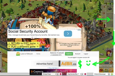 tutorial land of bitcoin d3fc gaming play good game empire