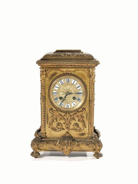 orologi da tavolo francesi orologio da tavolo francia sec xix in bronzo dorato