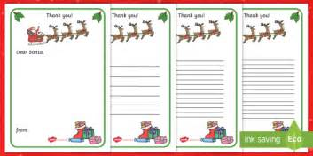 letter to santa template twinkl thank you letter to santa writing template christmas letter