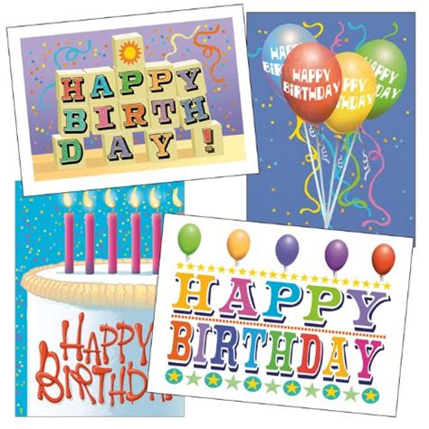 Business Birthday Cards Bulk Birthday Card Assorted Pack Set Of 36 Cards Envelopes