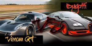 Gt Venom Vs Bugatti Bugatti Veyron Vs Hennessey Venom Gt Auto Mart