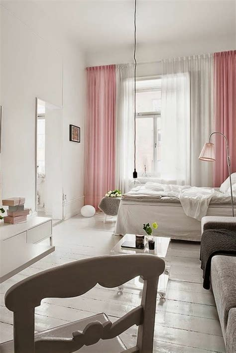 vorhange schlafzimmer pastell kleines schlafzimmer einrichten 55 stilvolle wohnideen