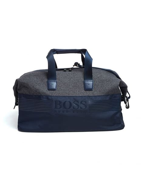 Bags In Bags Dpt 5 Bag hugo green mens pixel m holdall bag navy blue