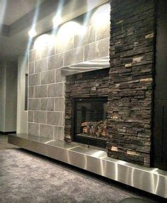 Stainless Steel Fireplace Mantel by 1000 Images About Fireplace On Concrete