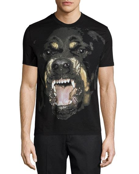 givenchy black rottweiler shirt givenchy rottweiler sleeve graphic t shirt black
