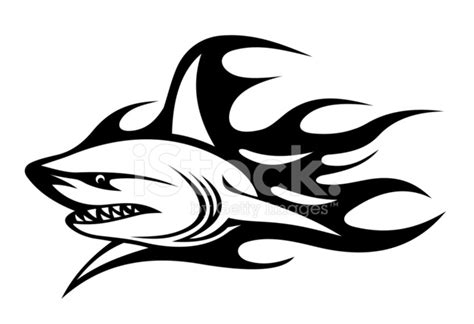 tattoo paper office max angry shark tattoo stock vector freeimages com