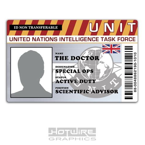 Personalised Printed Novelty Id Doctor Who Funny Tv Card Prop 620444490016 Ebay Mifflin Name Badge Template