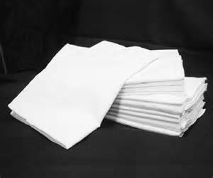 24 2 dozen white hotel pillow cases standard size