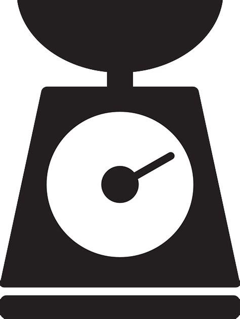 Timbangan Balance De Cuisine Digital Kitchen Scale Digital free vector graphic kitchen scale silhouette weight