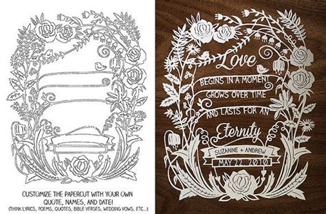 wedding papercut template 1000 images about paper schitten on paper
