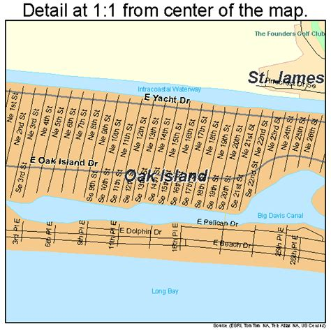 map of oak island carolina oak island carolina map 3748345