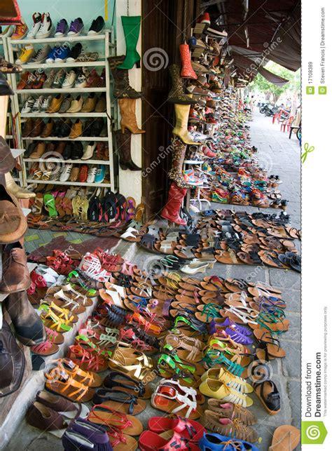 shoe market shoe market royalty free stock images image 17108389