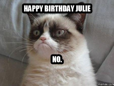Julie Meme - happy birthday julie no memes com