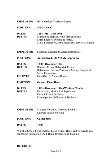 Apprentice Glazier Resume by Resume