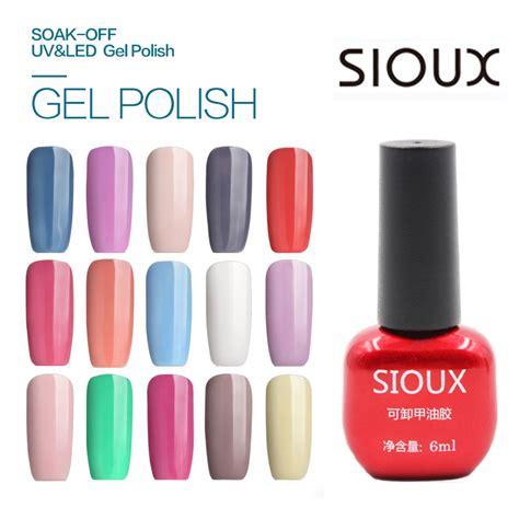 Sioux Kutek Kuku 6ml No 23 Strawberry 1 24 sioux 6ml uv gel nail led l lasting soak cheap gelpolish vernis top coat